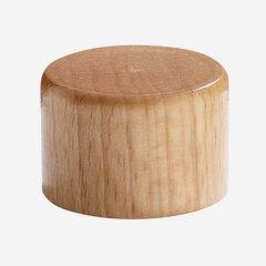 Alu-Holz Verbundverschluss PP 28, natur-lackiert