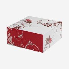 Tortenkarton klein, L220 x B220 x H100mm