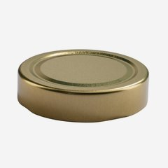 TWIST-OFF DECKEL, ø70mm, DE, gold