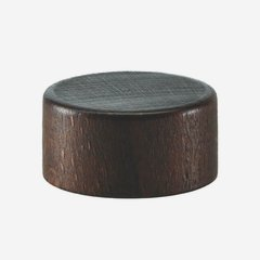 Holz-Alu-Schraubverschluss GPI 28, braun gebeizt