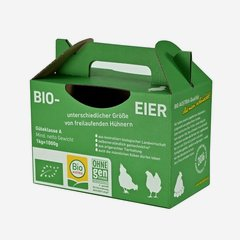"""Trägerkarton für Eier """"Bio Austria"""""""