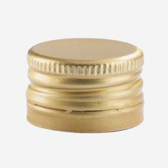 Pilferproof Aluverschluss PP 24, gold