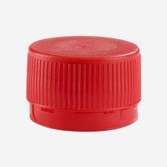Standard Schraubverschluss MCA 28, rot