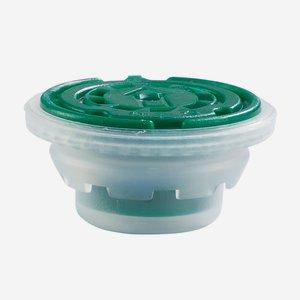 Verschluss für Dosen, grün