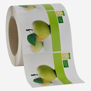Etikette BIO AUSTRIA - Apfelmost Blanko, 85x99mm