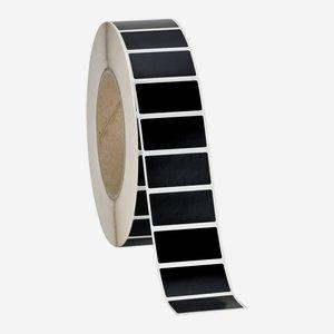 Etikette 19x38mm, schwarz