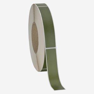 Etikette 25x120mm, olivgrün