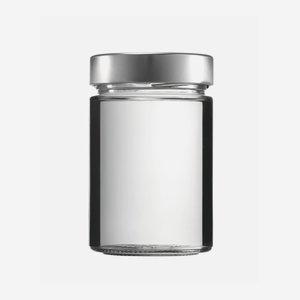 FACTUM Schraubglas 370ml, Weißglas, Mdg.: TO70De