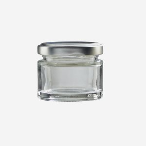 FACTUM Schraubglas 50ml, Weißglas, Mdg.: TO53