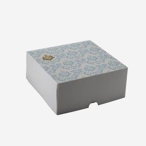 Food Karton klein, L220 x B220 x H100mm