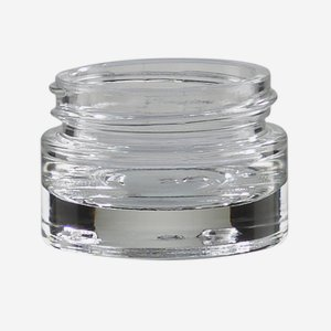 Kosmetik Glastiegel 15ml, Klarglas, Mdg.:KOV15-WEX
