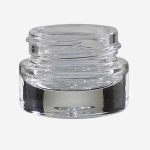Kosmetik Glastiegel 5ml, Klarglas, Mdg.:KOV-5WEX