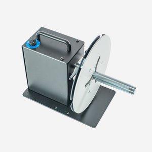 Etiketten Aufwickler kompakt, variabel bis 125mm