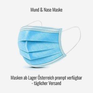 Mund & Nase Maske, kostengünstige 3L Standardmaske
