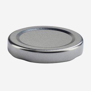 TWIST-OFF DECKEL, ø48mm, silber