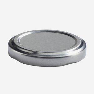 TWIST-OFF DECKEL, ø53mm, silber