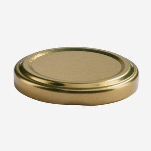 TWIST-OFF DECKEL, ø53mm, gold