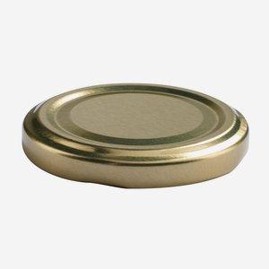 TWIST-OFF DECKEL, ø58mm, gold
