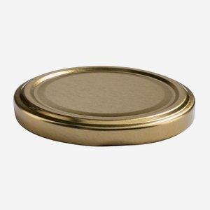 TWIST-OFF DECKEL, ø70mm, gold