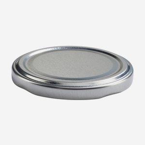 TWIST-OFF DECKEL, ø70mm, silber