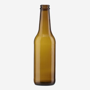 Bierflasche Ale EW 330ml, Braunglas, Mdg.: CC