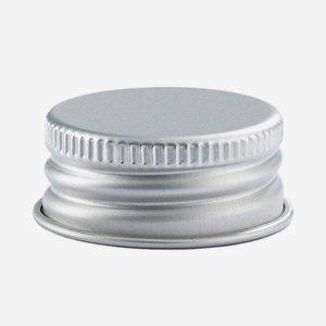Aluschrauber 28 mm, silber
