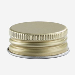 Aluschrauber 31,5 mm, gold