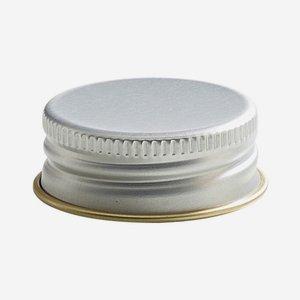 Aluschrauber 31,5 mm, silber