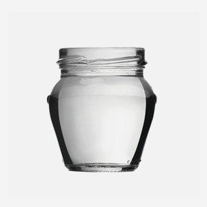 Schraubglas 106ml, Weißglas, Mdg.: TO53
