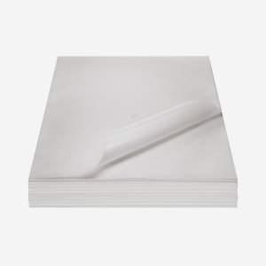 Fettpapier unbedruckt, 1/2 Bogen, 500 x 750mm
