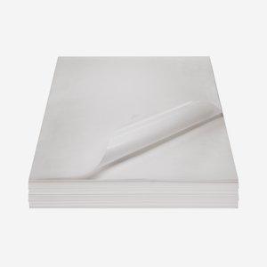 Fettpapier unbedruckt, 1/8 Bogen, 250 x 370mm
