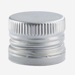 Anrollverschluss deep ø31,5 x H24mm, silber
