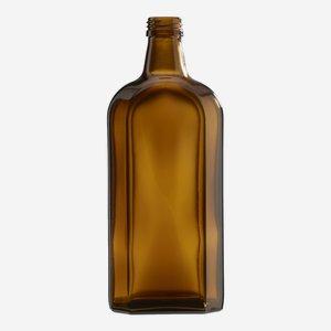 Elixirflasche 500 ml, Braunglas, Mdg.: PP28
