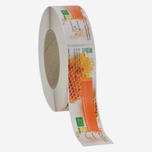 Biolageretiketten Honig, 36x154mm
