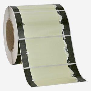 Etikette ORNAMENT, 65x125mm, 1 grün