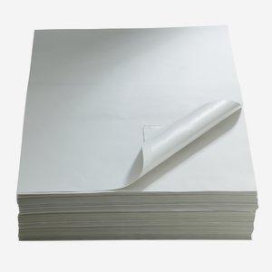 Folienwickelpapier Unbedruckt 1/4 Bogen, 370 x 500