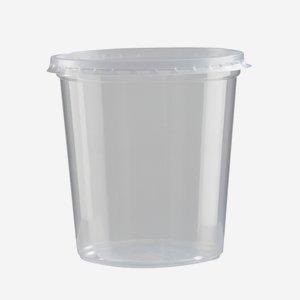 Feinkostbecher 500ml, Ø 100/76 mm, H 100 mm