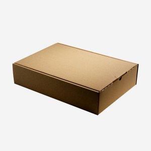 Geschenkkarton natur braun 38x26,5x8,5cm