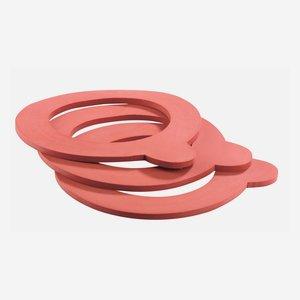 Ersatzgummiring Ø 52 x 80 mm, rot
