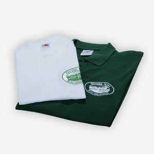 """Polo """"Gutes vom Bauernhof"""", grün"""