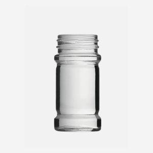Gewürzglas 75ml, Weißglas