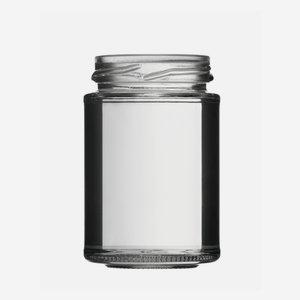 Schraubglas 110ml, Weißglas, Mdg.: TO48