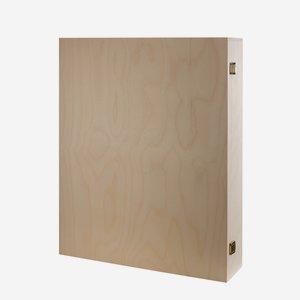 Holzkassette Klassik H40 x B50 x T10 cm