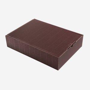 Geschenkkarton Außenwelle, rot, H38 x B26,5 x T8,5