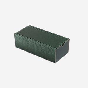 Geschenkkarton eCo-Außenwelle, grün