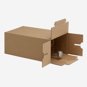 Karton für 6 Flaschen Beg-200GPI L150xB105 xH262mm