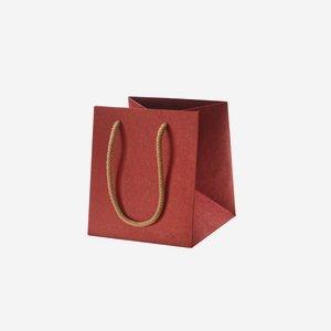 Geschenktragetasche, rot, ohne Fenster