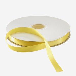 Satinband gelb, Heissfolien prägefähig