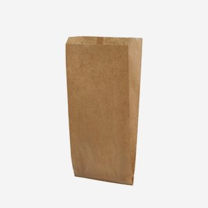 Seitenfaltensack 1,5kg, braun, 140/55/330