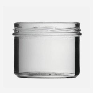 Sturzglas 225ml, Weißglas, Mdg.: TO 82